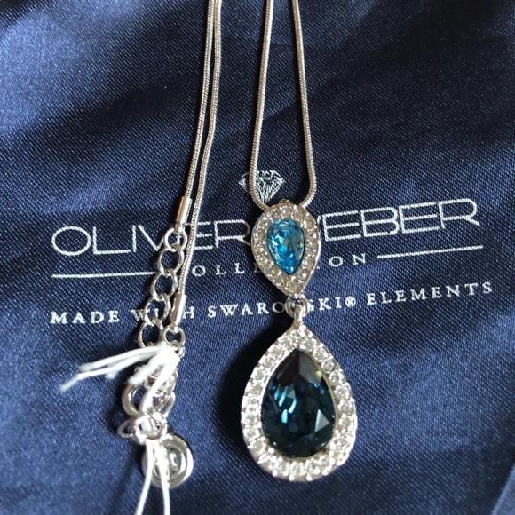 483797a6215da Oliver Weber Necklace Made with Swarovski Elements Boutique